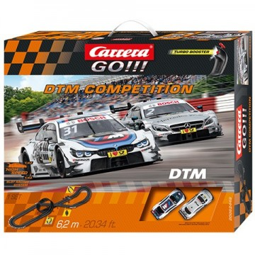 Poze Circuit electric masinute Mercedes AMG si BMW M4 DMT Competition Carrera Go 6,2 m
