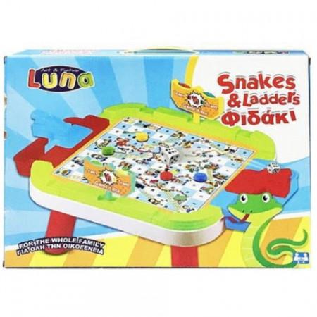 Joc Snakes and Ladders Luna