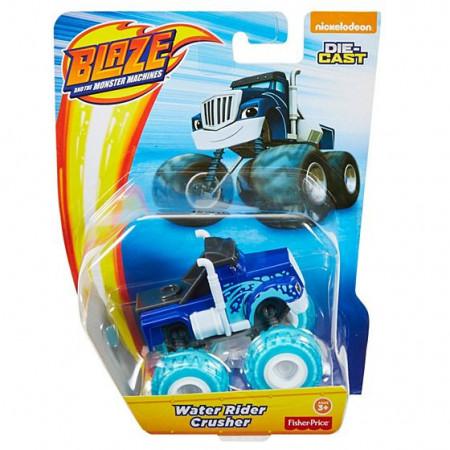 Masinuta metalica Crusher Water Rider Blaze si Masinile Uriase