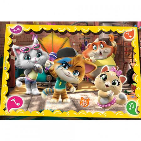 Puzzle 44 Cats Clementoni 60 piese