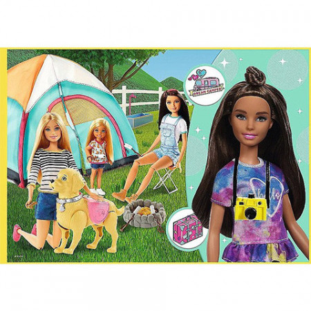 Puzzle Barbie 4 in 1 Trefl
