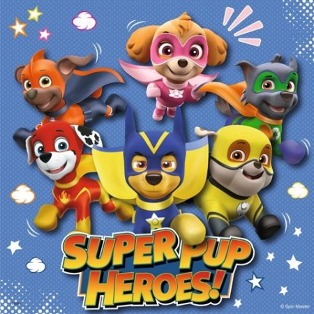 Puzzle Patrula Catelusilor Super Pup Heroes! 3x49 Ravensburger