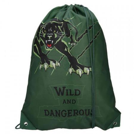 Sac de umar cu snur Wild and Dangerous Spirit