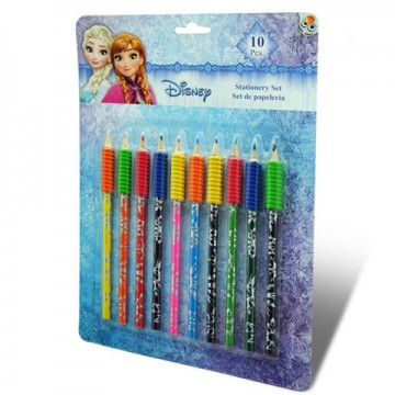Set 10 creioane colorate Frozen