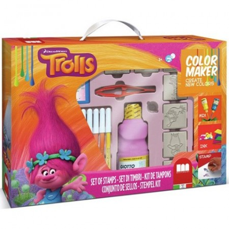 Set creativ Color Maker fete Trolls