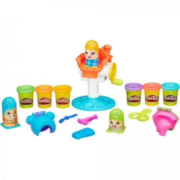 Set de joaca plastilina Frizeria Traznita Play Doh