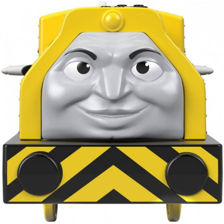 Locomotiva motorizata Raul si Emerson cu doua vagoane Thomas si Prietenii Track Master