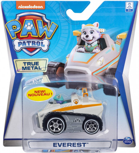 Masinuta metalica Everest Patrula Catelusilor Mighty Pups Super Paws