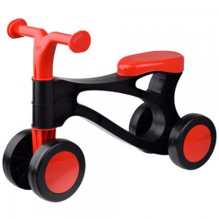 Motocicleta fara pedale negru-rosu Lena