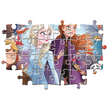 Puzzle 4 in 1 Frozen Clementoni 160 piese