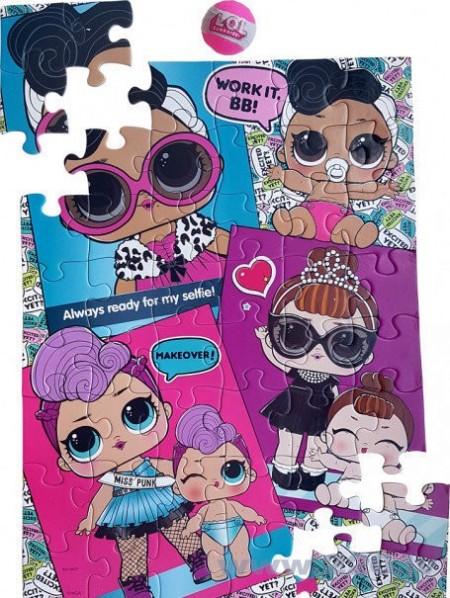 Puzzle 48 piese LOL Surprise