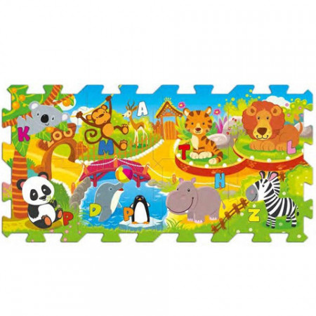 Puzzle din spuma Zoo 8 piese