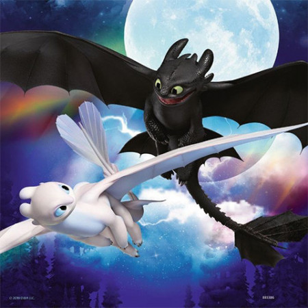 Puzzle How to Train Your Dragon 3x49 Ravensburger