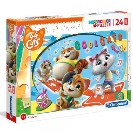 Puzzle Coolcats 44 Cats Clementoni 104 piese