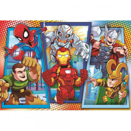 Puzzle Marvel Super Heroes Clementoni 104 piese