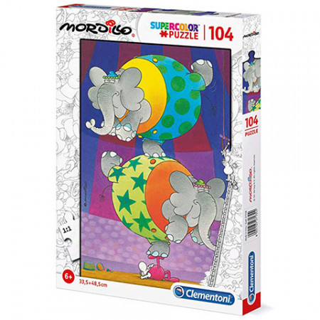 Puzzle Mordillo Clementoni 104 piese