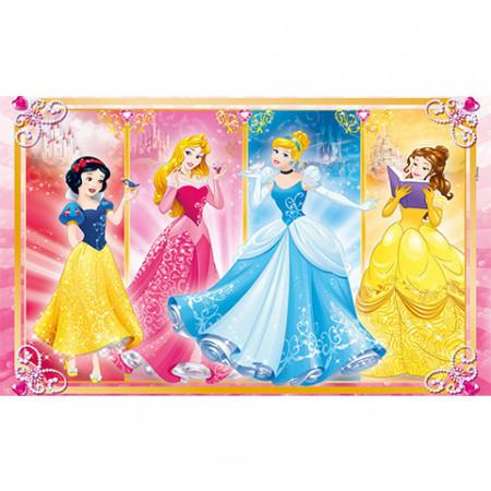 Puzzle Printesele Disney Clementoni 2x60 piese