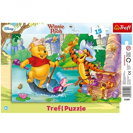 Poze Puzzle Winnie the Pooh 15 piese