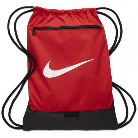 Sac de umar cu snur Nike Brasilia mare rosu