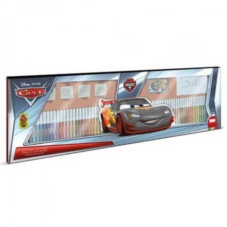 Set creativ cu 60 carioci Cars Carbon Racers