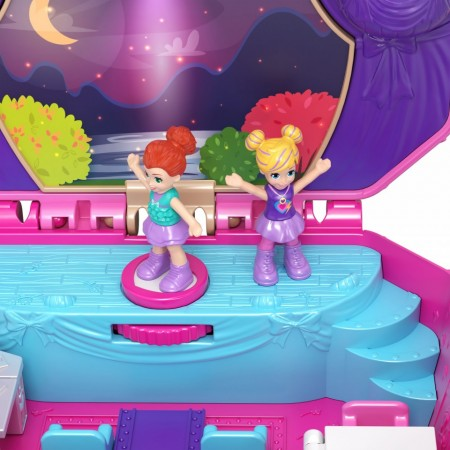 Set de joaca Tiny Twirlin' Music Box Compact Polly Pocket