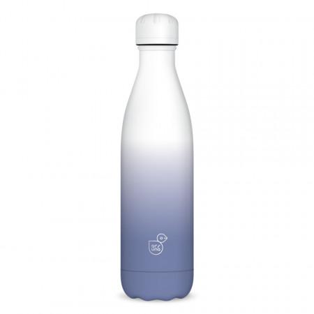Sticla pentru apa termoizolanta White Purple Ars Una 500 ml