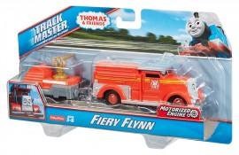 Trenulet Flynn Locomotiva Motorizata cu Vagon Thomas&Friends Track Master