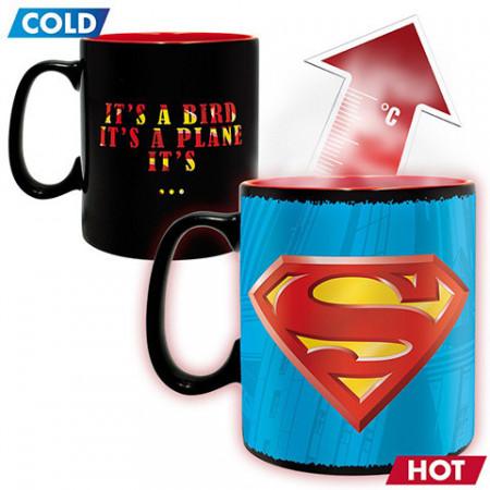 Cana care isi schimba culoarea Superman