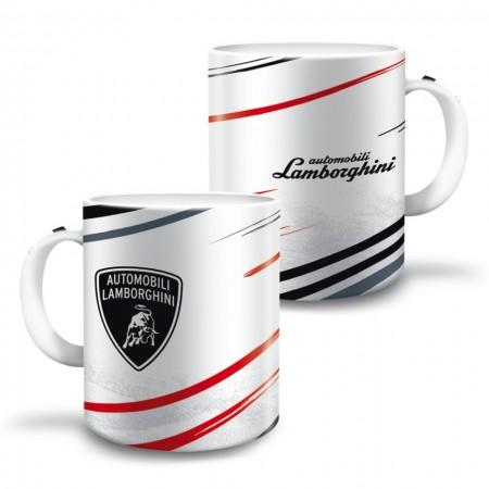 Cana Lamborghini alb