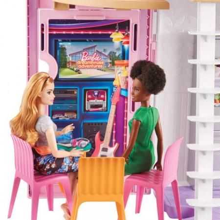Casuta de papusi mobilata Barbie Malibu