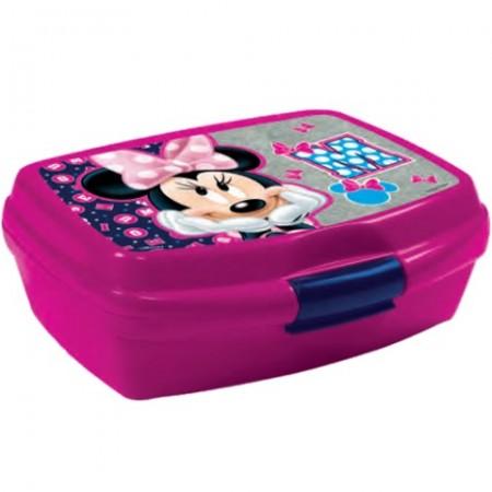 Cutie pentru sandwich Minnie Mouse mov