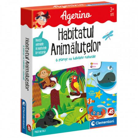 Joc educativ Habitatul Animalutelor Agerino Clementoni