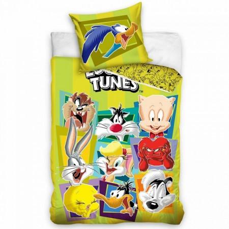 Lenjerie pat Looney Tunes 160x200 cm LT186006