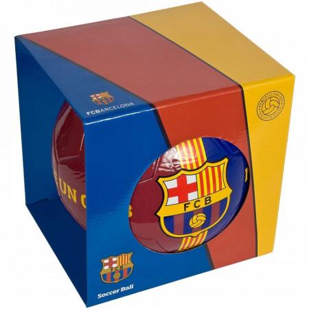 Minge de fotbal FC Barcelona Clasic in cutie cadou