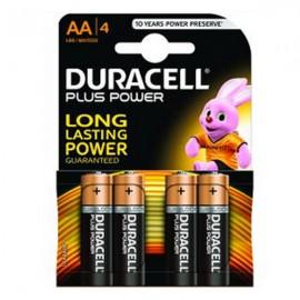 Set baterii alcaline Duracell Basic AA 4 buc