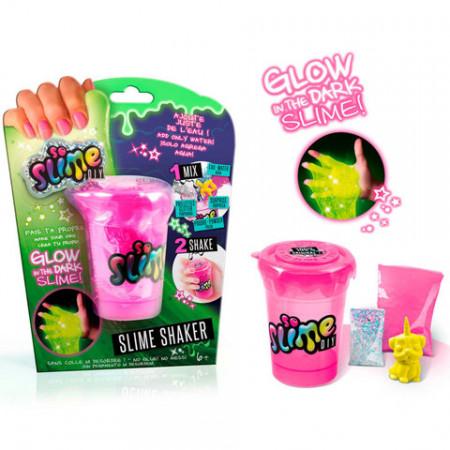 Set de creatie Slime Shaker Fosforescent So Slime 1 pachet