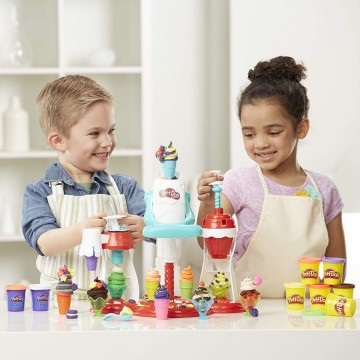 Poze Set de joaca plastilina Ultimate Swirl Ice Cream Maker Play Doh