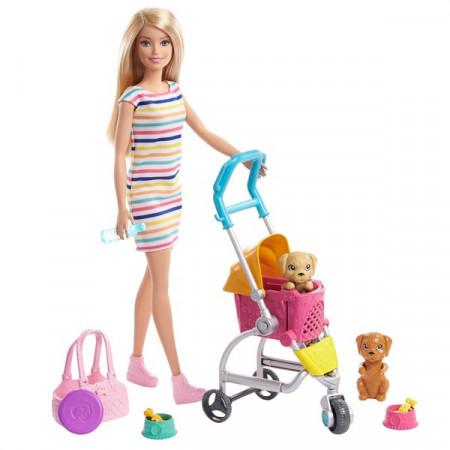 Set de joaca Stroll 'N Play Pups Barbie
