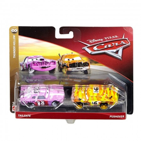 Set de masinute metalice Tailgate si Pushover Cars 3