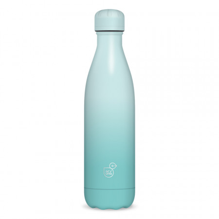 Sticla pentru apa termoizolanta White Turquoise Ars Una 500 ml