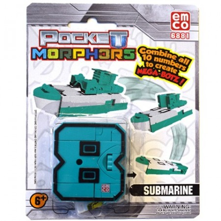 Poze Vehicul transformabil Cifra 8 Submarine Pocket Morphers 2