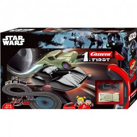 Poze Circuit electric masinute Star Wars Carrera First 2,4 m