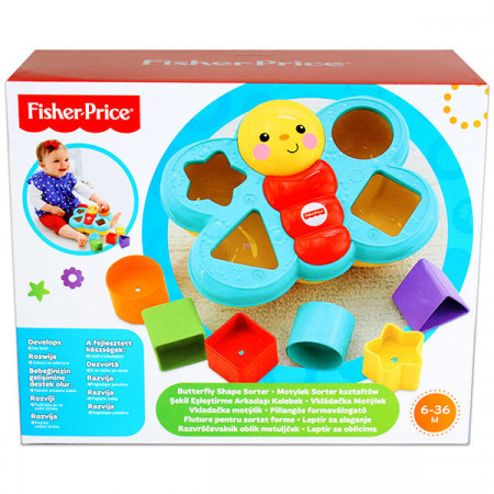Fluture de sortat forme Fisher Price