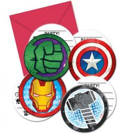 Invitatii pentru petrecere Avengers