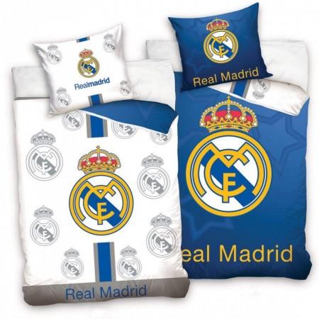 Lenjerie pat FC Real Madrid 160x200 cm RM181011