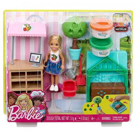 Papusa Chelsea Garden Set Barbie Club Chelsea