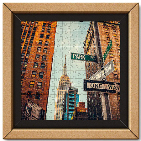Puzzle cu ramă New York Streets Clementoni 250 piese