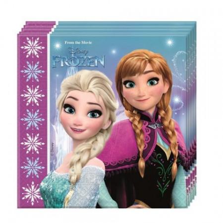 Servetele pentru petrecere Anna si Elsa Frozen