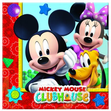 Servetele pentru petrecere Clubul lui Mickey Mouse