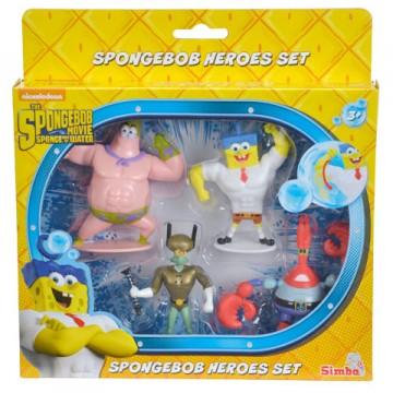 Set de figurine The Spongebob Movie